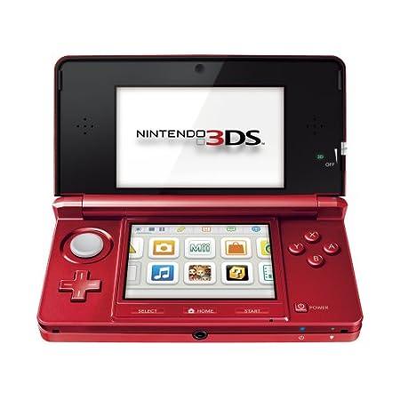 Nintendo 3DS HW Rojo Metálico