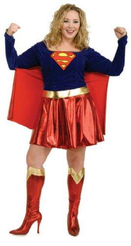 Supergirl Plus Size Adult Womens Costume