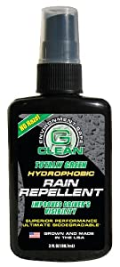 Green Earth Technologies 1214 G-Clean Hydrophobic Rain Repellent - 3 oz. by Green Earth Technologies