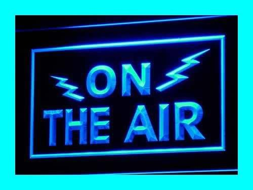 ADV PRO i066-b ON THE AIR Radio Recording Studio Light Signs