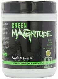 Controlled Labs Green Magnitude, Creatine Matrix Volumizer, 80 Serving, Green Lemonade, 1.83-Pound Plastic Jar