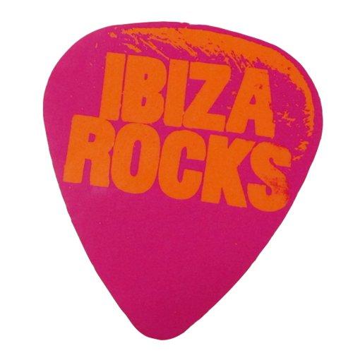 Ibiza Rocks: Plettro Neon Adesivo - Porpora, Taglia Unica