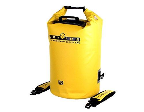 Overboard-Borsa termica, capacità 30 litri, colore: giallo