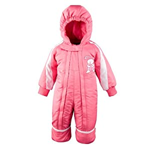 Mossi Pink 18 Months Toddler Snow Suit - 1 Piece