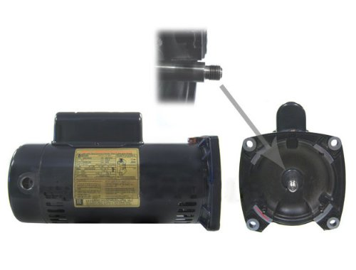 Hayward spx2710z1m 1 1 2 horsepower threaded shaft maxrate for Hayward 1 1 2 hp pool pump motor