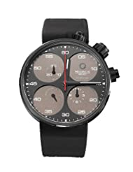 Meccaniche Veloci Men's W123K083372017 Automatic Titanium Grey and Brown Dial Chronograph Watch