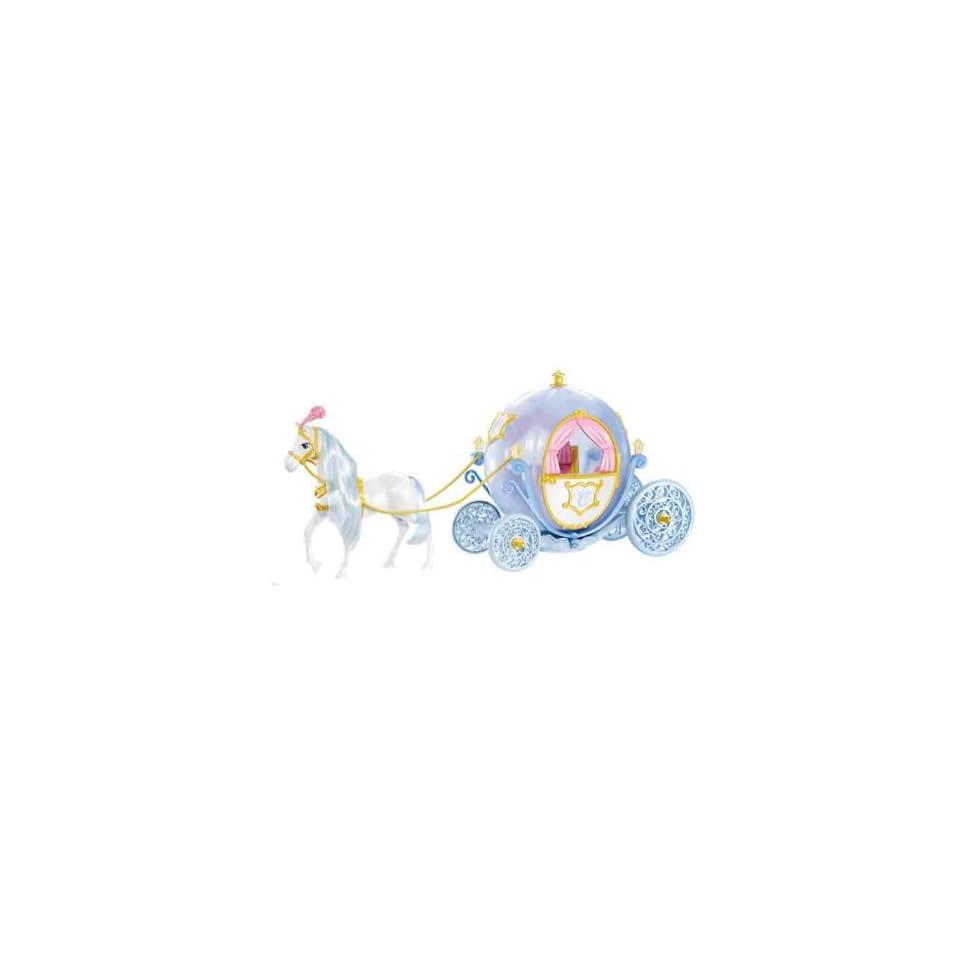 Mattel W2817   Disney Princess   Cinderella Kutsche und Pferd