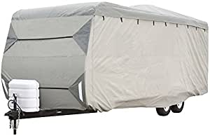 """Expedition by Eevelle Travel Trailer Cover - Fits 27' to 30' Long Trailers - 366""""L x 102""""W x 104""""H"""