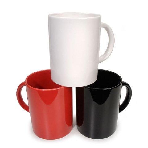 Jumbo Coffee Mug - Red - 7 X 5.5 Inches