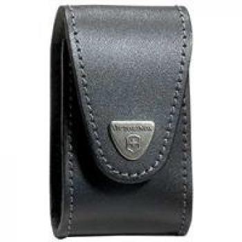 Victorinox Swiss Army Swisschamp Xlt Leather Pouch, Black