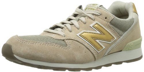 new balance beige gold damen