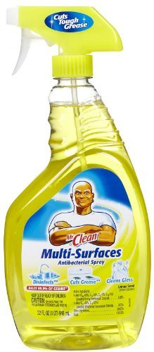 Mr. Clean Multi-Surface Cleaner, Lemon...