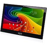 Xoro MegaPAD 1402 35,6 cm (14 Zoll) Tablet-PC ohne Akku (Rockchip RK3188 Cortex A9, 1,6GHz, 1GB RAM, 16GB SSD, Mali-400 MP4, USB 2.0, Android 4.4) schwarz