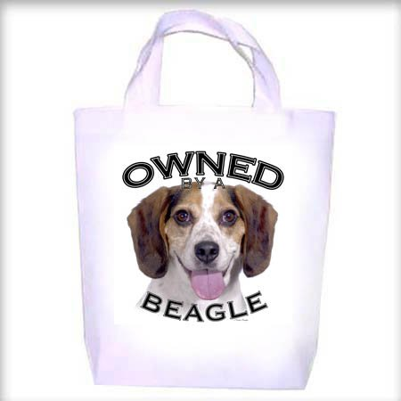 Beagle Owned Shopping - Dog Toy - Tote Bag