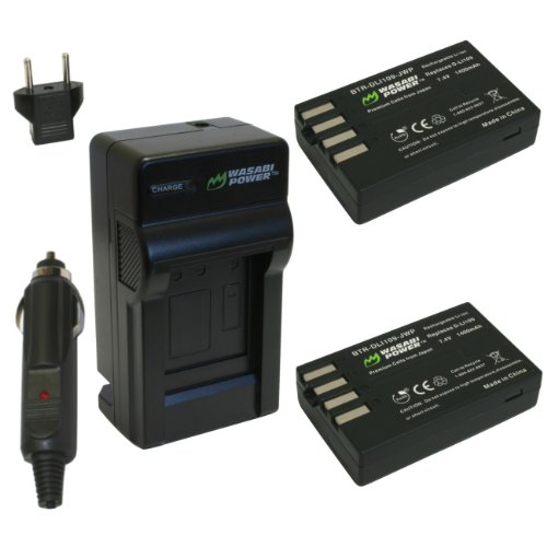 Wasabi Power Battery and Charger Kit for Pentax D-LI109 and Pentax K-r, K-30