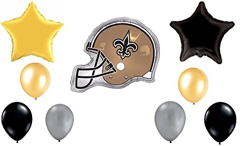 NFL New Orleans Saints Football Balloon Decoration Kit