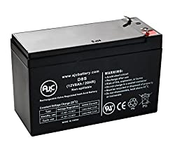 APC Back-UPS ES 725 Broadband 12V 8Ah UPS Battery - This is an AJC Brand Replacement