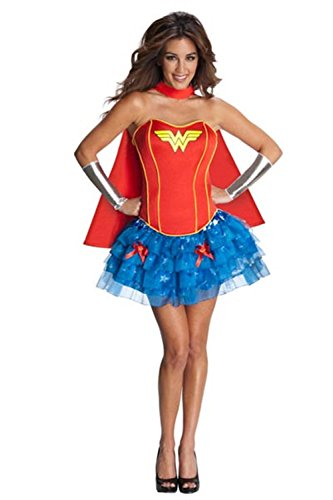 [Lover-baby Woman Superhero Costume Outfit Heroine Hottie Halloween Costume (XL)] (Famous Superhero Costumes)