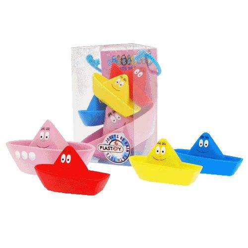 Imagen 1 de Barbapapà giochi da bagno (Set n°3) Plastoy cod. 80503