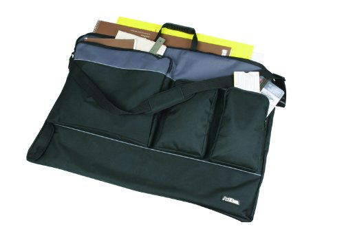 ArtBin Tote Folio Tote, X-Large, Black/Charcoal