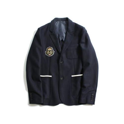 (フレッドペリー) FRED PERRYメンズPreppy jacket MIX ジャケット M NAVY