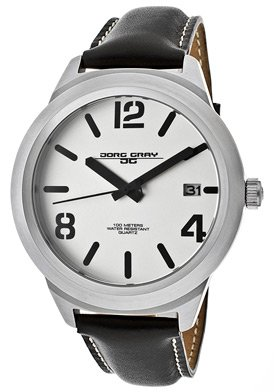 Jorg Gray JG1950-13 Men's Leather Strap 45 mm Watch