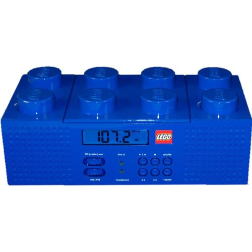 LEGO Brick Boombox - Blue