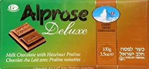 Alprose Deluxe Chocolate Bar 3.5oz(PACK OF 6)
