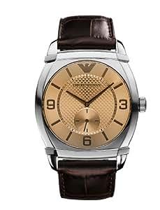 Amazon.com: Montre Armani Homme AR0338 marron - -: Watches