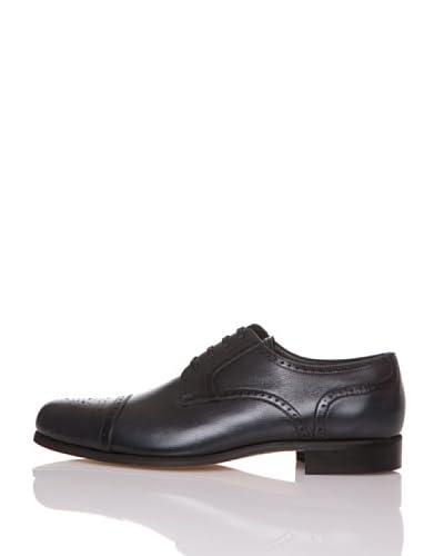 George's Zapatos Cordones Puntera Redondeada Gris