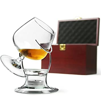 coffret chauffe verre cognac verre ballon support de chauffage bougie porte bougie pour brandy. Black Bedroom Furniture Sets. Home Design Ideas
