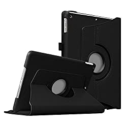 Fintie (Black) 360 Degrees Rotating Stand Leather Case Cover for Apple iPad mini 7.9 inch Tablet With Auto Wake / Sleep Feature - 9 Colors Options