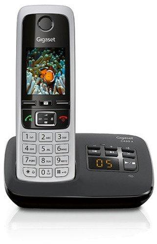 Shopping mit http://telefone.kalimno.de - Gigaset C430A Schnurlostelefon (4,6cm (1