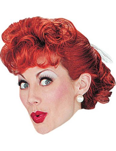 I Love Lucy Adult Wig Halloween Costume - Most Adults