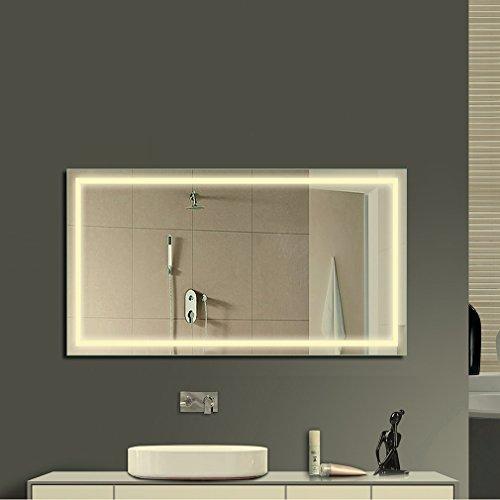 Anten-Elegant-18W-LED-Spiegelleuchte-3000K-Warmwei-IP65-LED-Wand-Spiegel-mit-Beleuchtung-80x60cm-Eckig