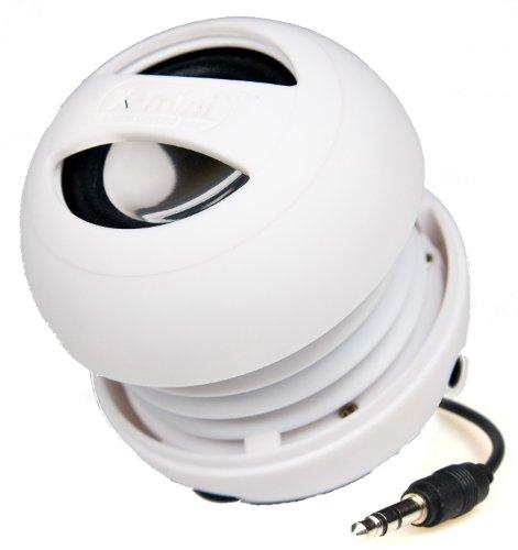 X-Mini Ii Xam4-W Portable Capsule Speaker, Mono, White