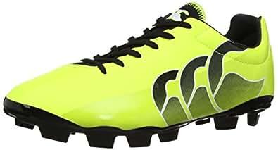 Canterbury E22316 Men's Speed Club Blade Rugby Boot - Sulphur Spring/Black, 8 UK