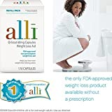41cbOVgIvvL. SL160  alli Orlistat 60mg Refill Pack Non prescription Weight Loss Aid, 170 Capsules each (Pack of 2)