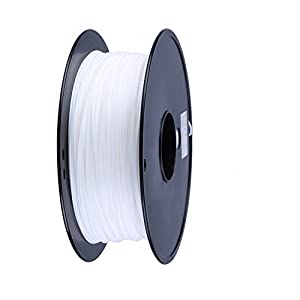 FUNFLAG 3D Printer Filament PLA 1 kg Plastic Spool-WHITE by TwoPages Homefashion