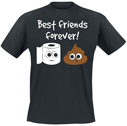 Best Friends Forever! T-Shirt nero XL