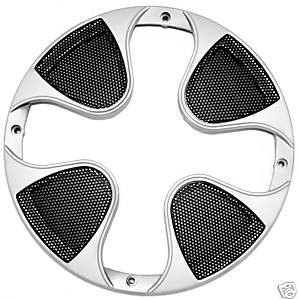 Imc Networks 10 -Inch Subwoofer Grill Sub Woofer Speaker Cover Silver