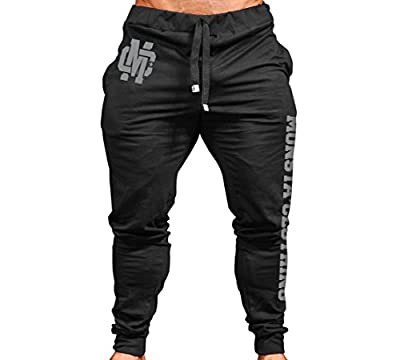 Monsta Clothing Co. Men's MC-Crest-(SWPNT-237) Cuffed Joggers