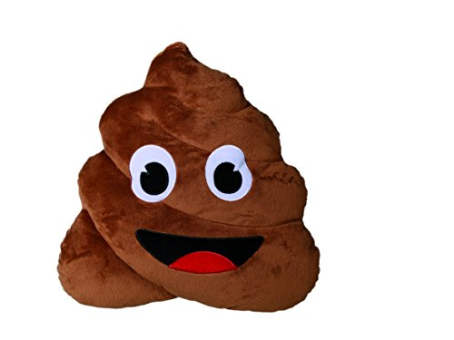 Out of the Blue KG - Emotion Faces Cuscino 30 cm Poo