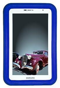 "Bobj Rugged Case for Samsung 7-inch Galaxy Tab2 and Galaxy ""Tab Plus"" Wi-Fi and 3G/4G Models (Not for Tab3) - BobjGear protective cover - Batfish Blue"
