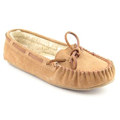 Minnetonka Moccasin Women's Kayla Slipper (Cinnamon, 10)