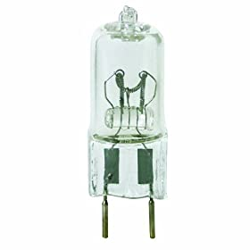 Feit Electric BPQ20/G8 20 Watt T4 JCD Halogen Bulb with Bi-Pin Base, Clear