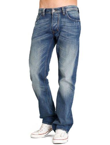 Diesel Larkee Rkn8 Straight Blue Man Jeans Men - W32 L32