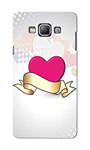 CimaCase Heart Designer 3D Printed Case Cover For Samsung Galaxy A7