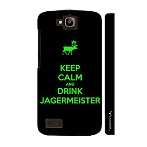 Huawei Honor Holly EVERYONE LOVES JAGER designer mobile hard shell case by Enthopia