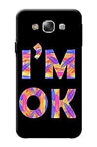 Samsung Galaxy E7 Designer Cover Kanvas Cases Premium Quality 3D Printed Lightweight Slim Matte Finish Hard Back Case for Samsung Galaxy E7